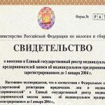 Тонкости получения официальной выписки из ЕГРИП