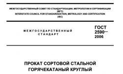 ГОСТ 2590-2006