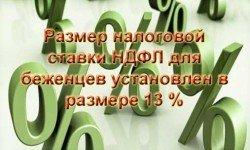 Фото: Налоговая ставка НДФЛ для беженцев и резидентов РФ будет одинаковой